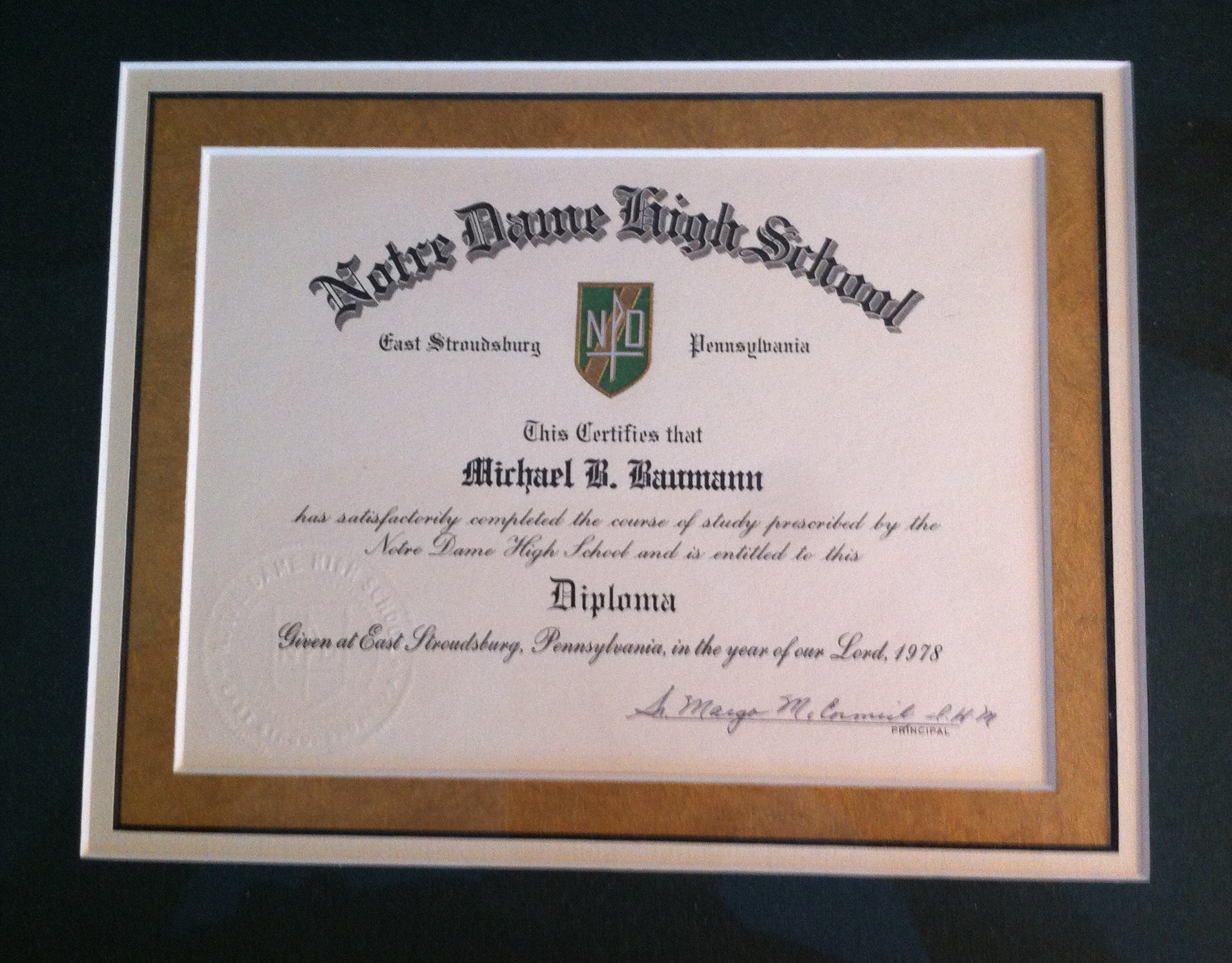 lost high school diploma:
